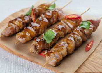 Chicken brochette (1 skewer)