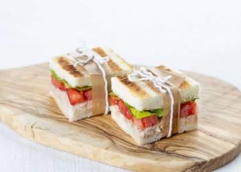 Мини-сэндвичи с тунцом (2 шт.)