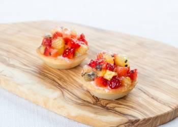 Мини-тарталетка с фруктами (1 шт.)