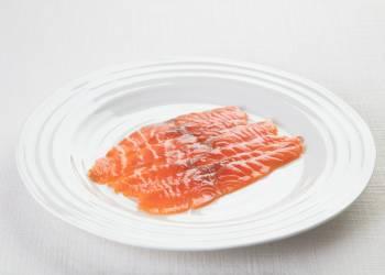 Слабосоленый лосось