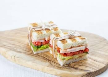 Мини-сэндвичи с курицей (2 шт.)