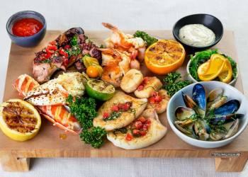 Ассорти морепродуктов (на 2 персоны)