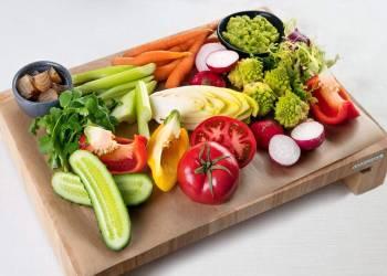 Ассорти из свежих овощей(на 2 персоны)